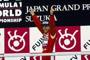 1. und Formel-1-Weltmeister 1988: Ayrton Senna, McLaren
