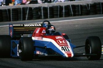 Stefan Johansson, Spirit Honda 201C