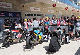 Moto2 Parc Ferme