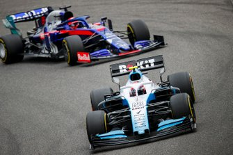 Robert Kubica, Williams FW42, Daniil Kvyat, Toro Rosso STR14
