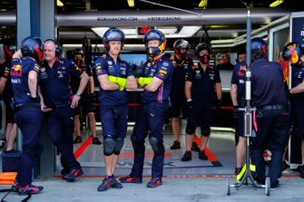 Pit crew Red Bull Racing