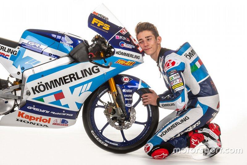 Riccardo Rossi, Kommerling Gresini Moto3