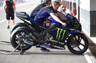Yamaha Factory Racing bike