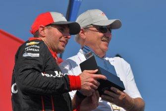 Will Power, Team Penske Chevrolet, tercer lugar victory lane