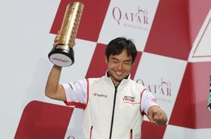 Podium: Hiroshi Aoyama, Honda Team Asia