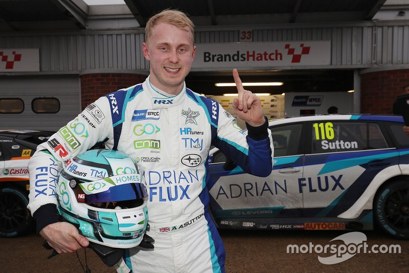 Polesitter Ash Sutton, Team BMR Subaru Levorg
