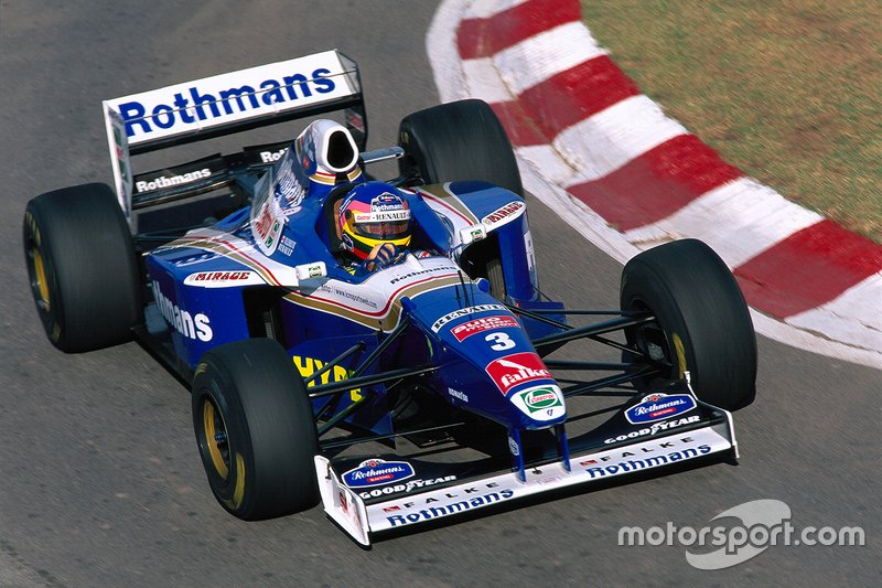 Jacques Villeneuve - 11 victorias con Williams