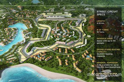 Endonezya Lombok pist tanıtımı