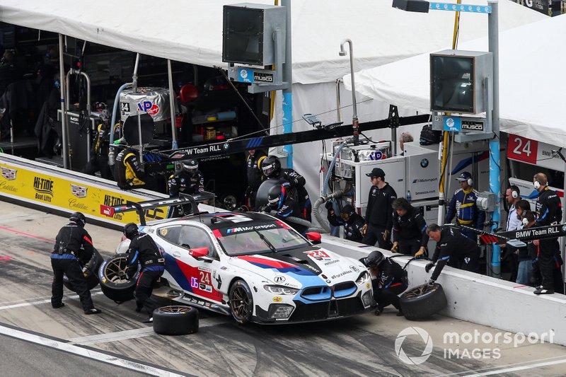 А вот на BMW M8 GTE Дзанарди выступал в Дайтоне еще в 2019 году