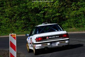 Marcin Majcher, Subaru Legacy, Rajd Swidnicki-Krause, RSMP