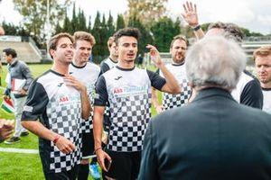 Pascal Wehrlein (DEU), Mahindra Racing, Antonio Felix da Costa, BMW I Andretti Motorsports at the Formula E charity football match