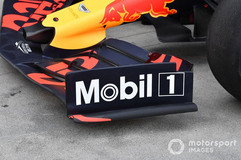 Endplate del alerón del Red Bull Racing RB15