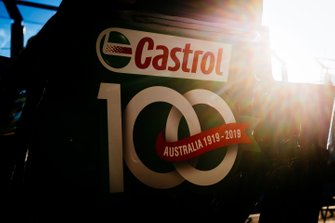 Le logo Castrol sur la Renault F1 Team R.S.19
