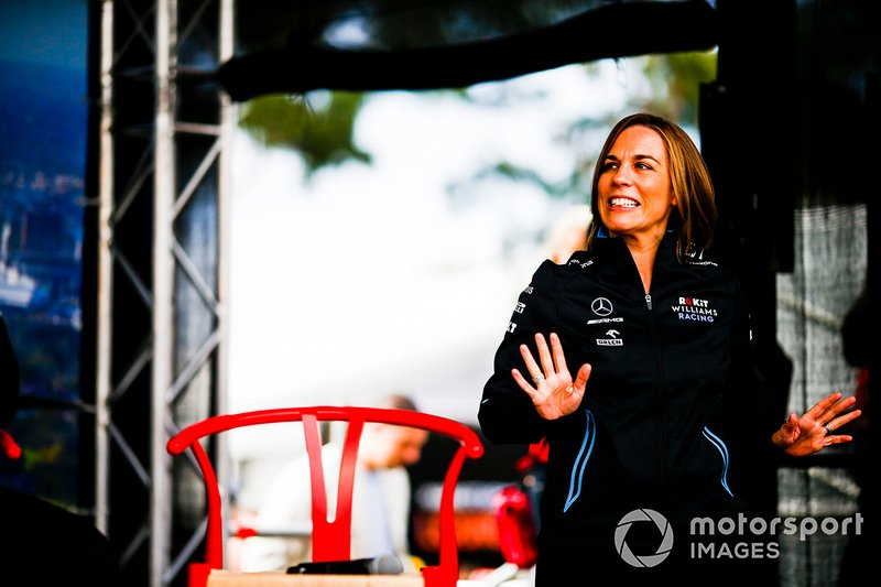 Клер Вільямс, заступник керівника команди Williams Racing
