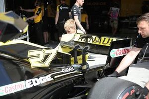 Renault F1 Team achtervleugel
