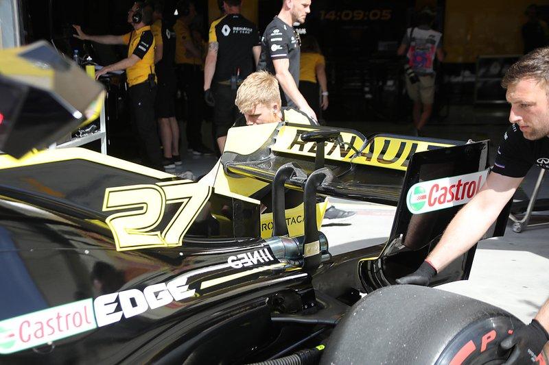 Renault F1 Team arka kanat
