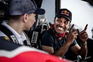 Nasser Al Attiyah und Jorge Lorenzo