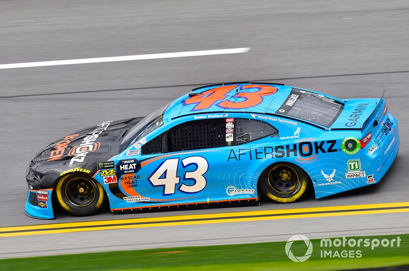13. Darrell Wallace Jr., Richard Petty Motorsports, Chevrolet Camaro Aftershokz