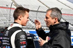 Raphael Lessard, Kyle Busch Motorsports, Toyota Tundra Spectra Premium during practice.