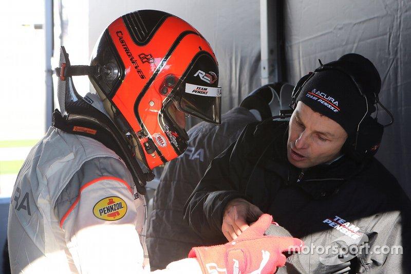 #7 Acura Team Penske: Helio Castroneves
