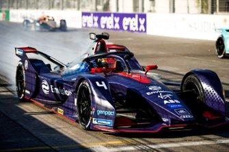 Robin Frijns, Envision Virgin Racing, Audi e-tron FE05, practices a start