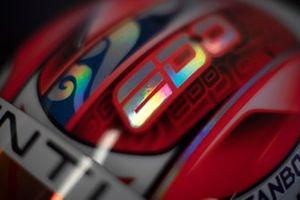 Edoardo Mortara Venturi Formula E, Venturi VFE05, helmet detail