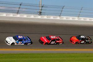 B.J. McLeod, Petty Ware Racing, Chevrolet Camaro JACOB COMPANIES and Cody Ware, Rick Ware Racing, Chevrolet Camaro Winn Dixie