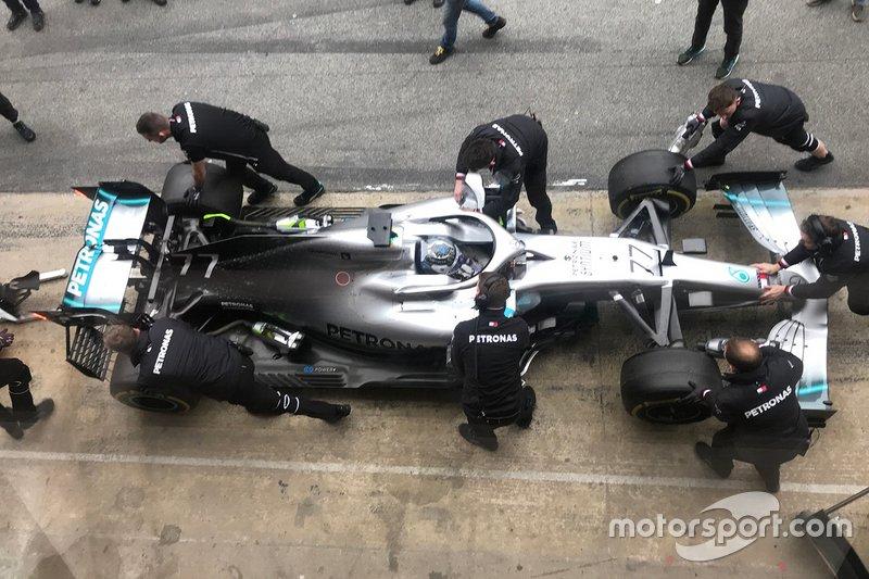 Valtteri Bottas, Mercedes-AMG F1W10
