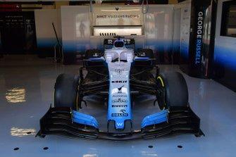 Williams FW42 in de Williams Racing garage