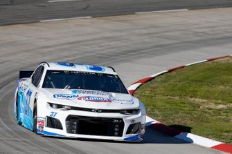 Chris Buescher, JTG Daugherty Racing, Chevrolet Camaro Kroger Speed Up Your Cleanup