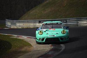 #4 Falken Motorsports Porsche 911 GT3 R: Klaus Bachler, Jörg Bergmeister
