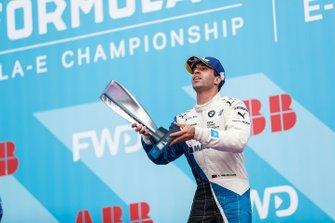 Antonio Felix da Costa, BMW I Andretti Motorsports, festeggia sul podio