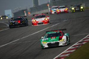 #29 Montaplast Audi Sport Team Land Audi R8 LMS: Kelvin Van Der Linde, Dries Vanthoor, René Rast