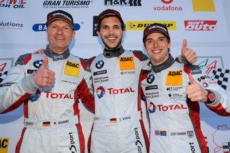 Podium: #35 Walkenhorst Motorsport BMW M6 GT3: Rudi Adams, Jody Fannin, Immanuel Vinke