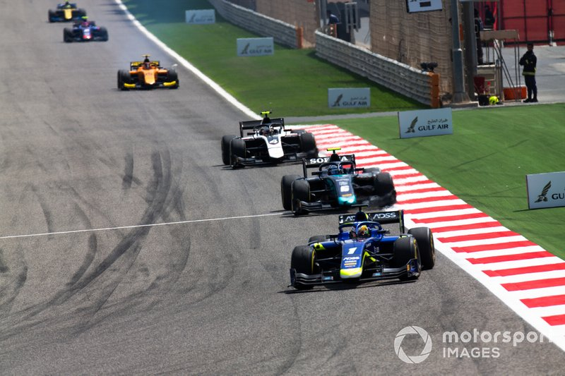 Louis Deletraz, CARLIN, Nicholas Latifi, DAMS Nyck De Vries, ART GRAND PRIX