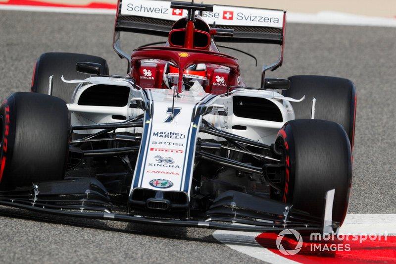 10 місце — Кімі Райкконен, Alfa Romeo