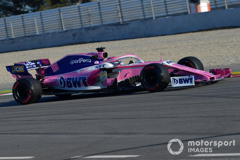 14º Lance Stroll, Racing Point F1 Team RP19, 1:17.556 (neumáticos C5, día 7)