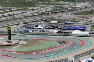 Penalty-Spur am Circuit of The Americas in Austin
