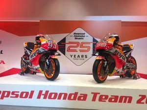 Las motos de Marc Márquez y Jorge Lorenzo, Honda HRC