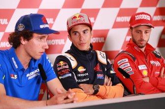 Алекс Ринс, Team Suzuki MotoGP, Марк Маркес, Repsol Honda Team, Андреа Довициозо, Ducati Team