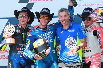 Valentino Rossi, Yamaha Factory Racing, Rins Jack Miller, Pramac Racing