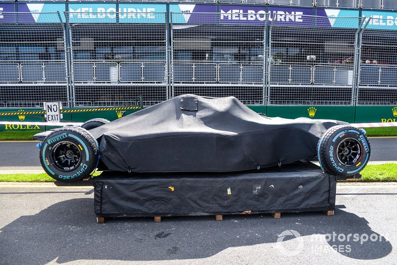 F1 bajo la cubierta
