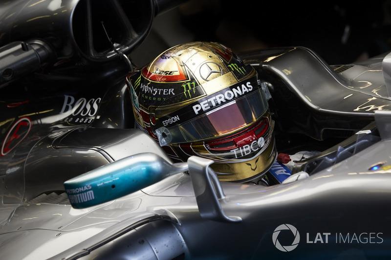 Abu Dhabi - Lewis Hamilton