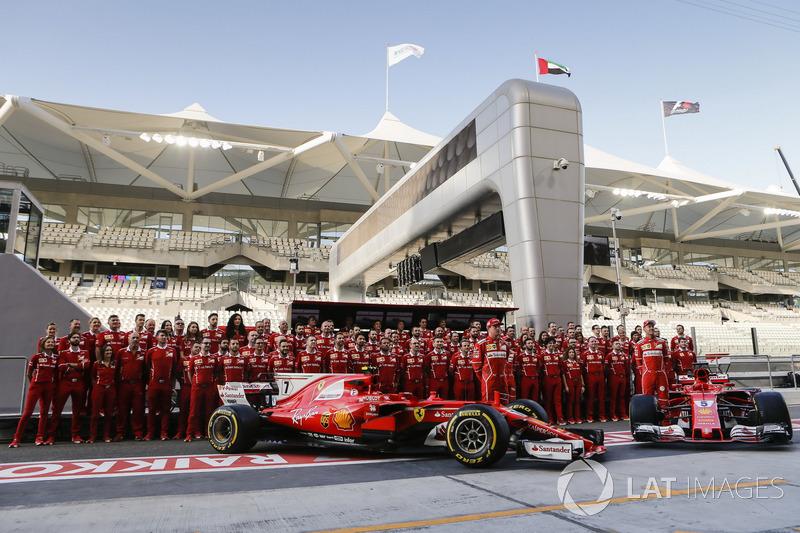 Ferrari Team photo