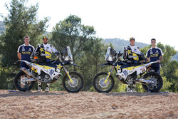 №10 Husqvarna Factory Racing: Пабло Кинтанилья, №54: Эндрю Шорт