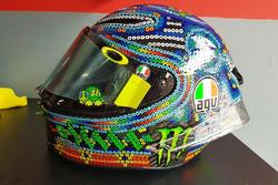 Le casque de Valentino Rossi, Yamaha Factory Racing