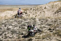 Си-Эс Сантош, Hero MotoSports Team Rally, Hero 450 Rally (№49), Оливье Па, Team Top, KTM 450 Rally (