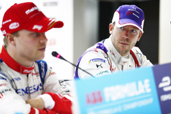 Felix Rosenqvist, Mahindra Racing, Sam Bird, DS Virgin Racing, in the press conference