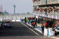 Sébastien Buemi, Renault e.Dams, Felix Rosenqvist, Mahindra Racing, Sam Bird, DS Virgin Racing, en p