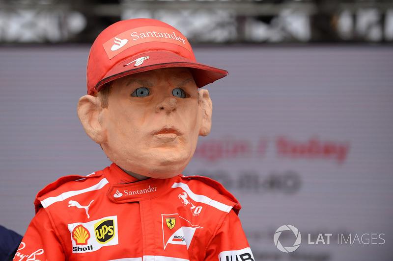 Guiñol de Kimi Raikkonen, Ferrari